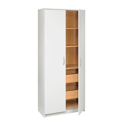 TALON 2 Door Storage Cabinet with Pull Out Drawers