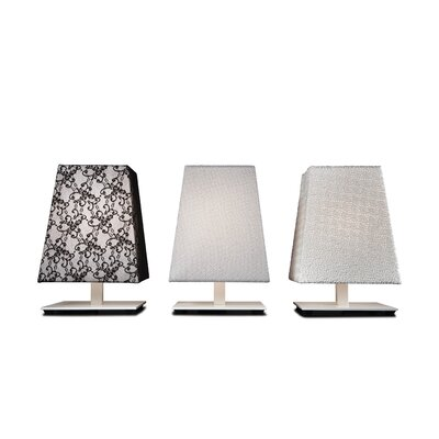 "Contardi Quadra Siviglia 12"" H Table Lamp with Rectangle Shade"