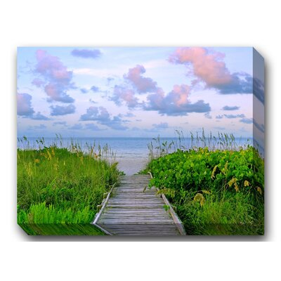 Walk Toward Dawn Outdoor Canvas Art