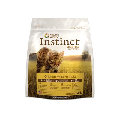 Instinct Grain-Free Chicken Meal Dry Cat Food