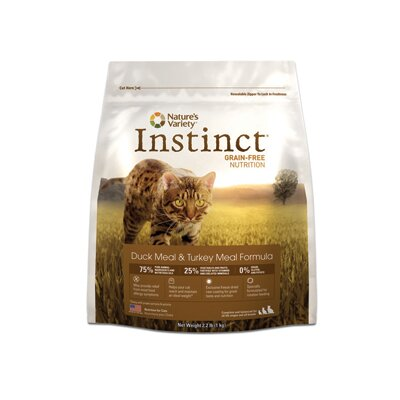 Instinct Grain-Free Duck Meal and Turkey Meal Dry Cat Food