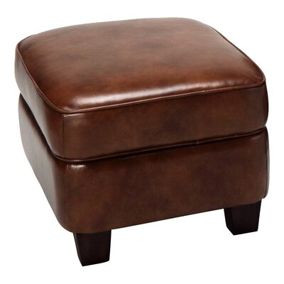 Chester Leather Storage Ottoman