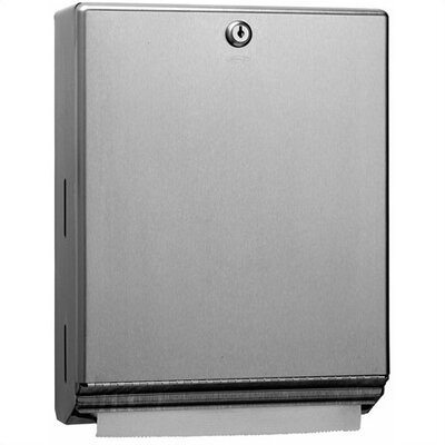 Bobrick Classic™ Series Tumbler Lock Paper Towel Dispenser