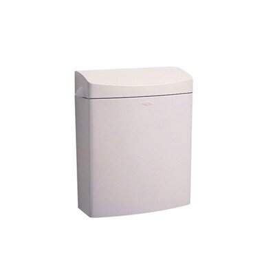 Bobrick Rectangular Matrix Series Sanitary Napkin Disposal in Gray
