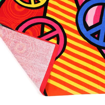 Kaufman Sales Peace Heart Beach Towel