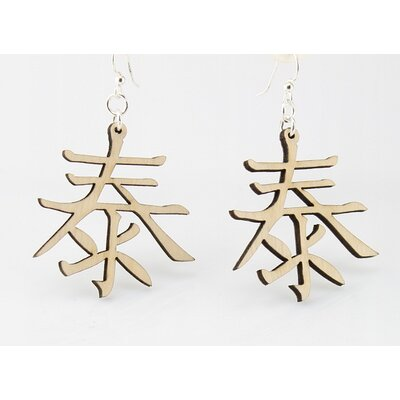 Kanji - Peace Earrings