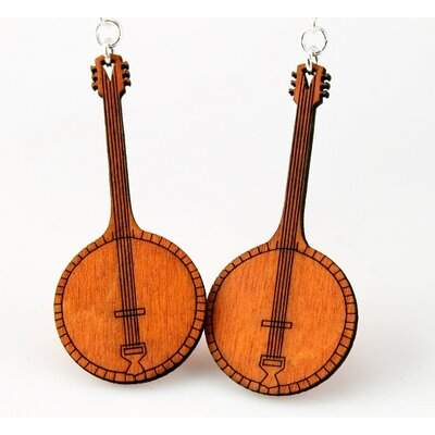 Green Tree Jewelry Banjo Earrings