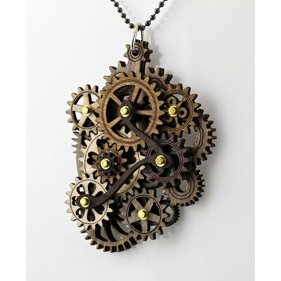 Green Tree Jewelry Kinetic Main Gear Pendant