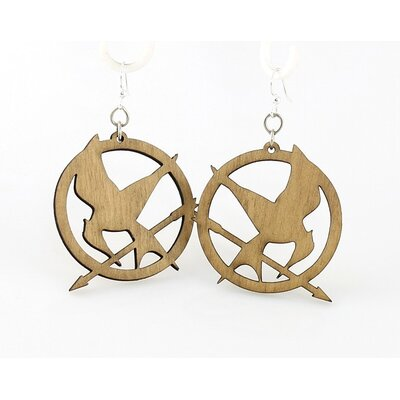 Mocking Jay Drop Earrings