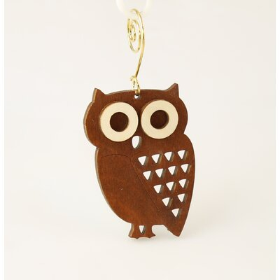 Green Tree Jewelry Little Hoot Owl Ornament