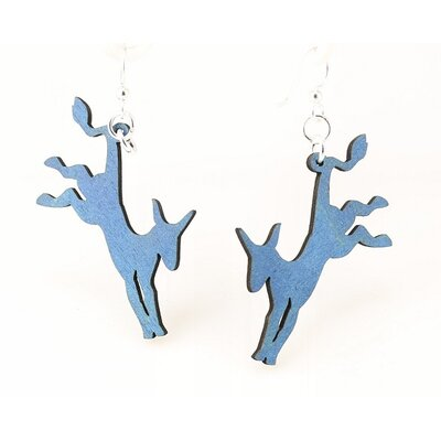 Democratic Donkey Earrings