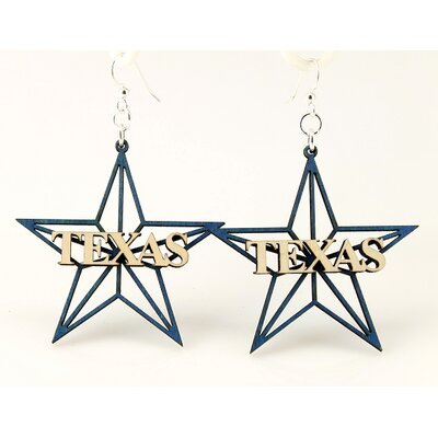 Texas Star Earrings