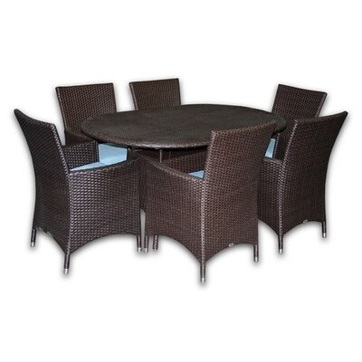 Patio Heaven Skye Malibu Dining Set