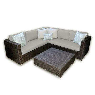 Patio Heaven Skye Vienna 3 Piece Deep Seating Group with Cushions