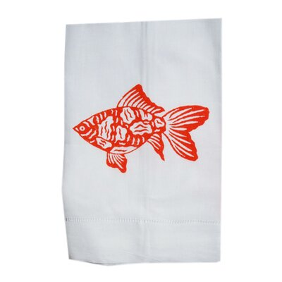 Lowcountry Linens Fish Guest Towel