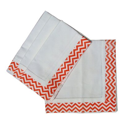 Lowcountry Linens ZigZag Dinner Napkin (Set of 4)