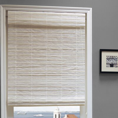 Chicology Serenity Natural Woven Roman Shade