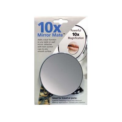 Floxite 10x Mirror Mate with Suction Cups