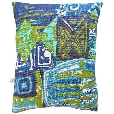 Artgoodies Sailboat Block Print Squillow Accent Pillow