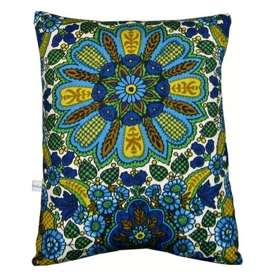 Artgoodies Sailboat Block Print Squillow Accent Pillow