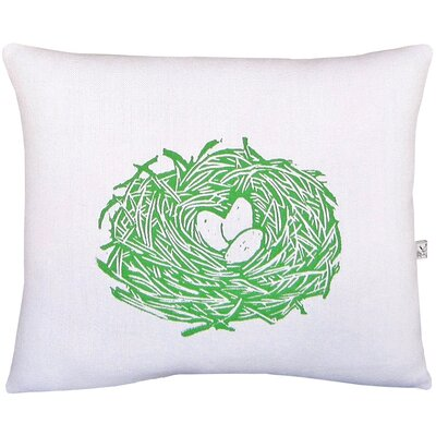 Nest Block Print Squillow Accent Pillow