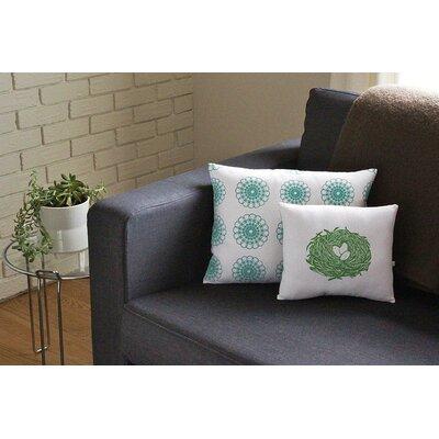 Artgoodies Nest Block Print Squillow Accent Pillow