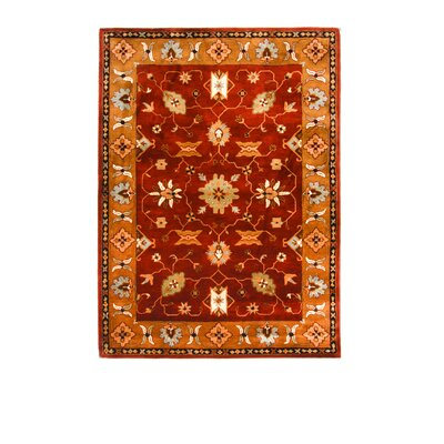 Liberty Oriental Rugs Tempest Rust/Dark Gold Rug