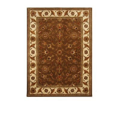 Liberty Oriental Rugs Tempest Dark Brown/Ivory Rug