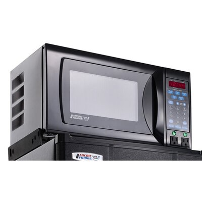 2.4 Cu. Ft Refrigerator with 0.7 Cu. Ft. 700 Watt Microwave Oven