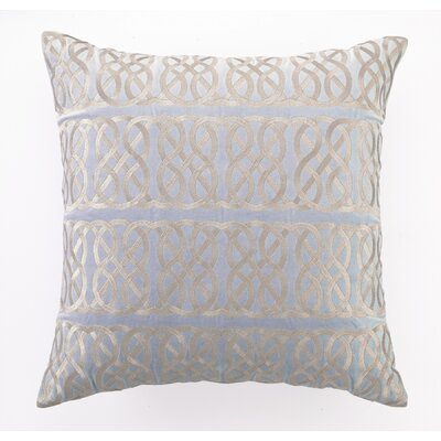 D.L. Rhein Nautical Knot Down Filled Embroidered Linen Pillow