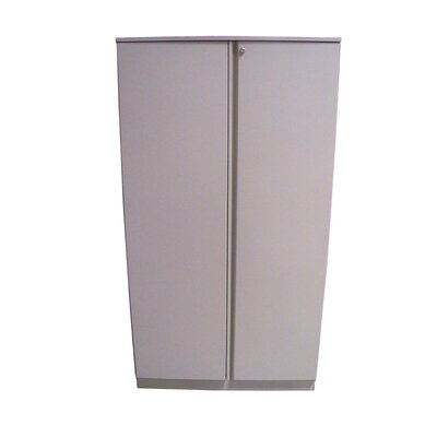 Great Openings Trace 36&quot; Double Door 5-High Storage Cabinet with Shelf