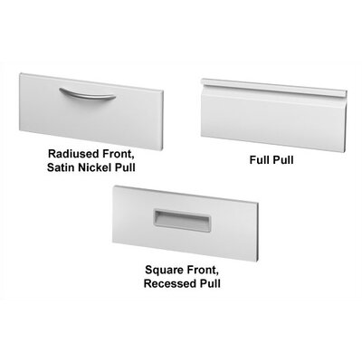 "Great Openings 15"" Receding Door Lateral File with Four Fixed Shelves"