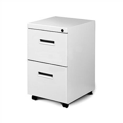 Great Openings Mobile Pedestal with Two File Drawers