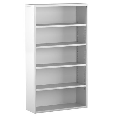 Great Openings Trace 5-High Bookcase with 4 Adjustable Shelves