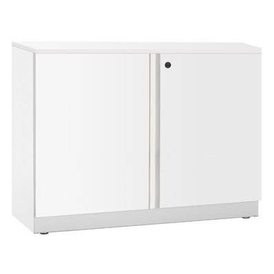 Great Openings Trace Double Door 2-High Storage Cabinet with 1 Adjustable Shelf