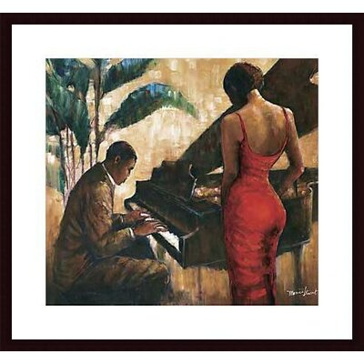 Barewalls Enchanting Keys by Monica Stewart  Wood Framed Art Print