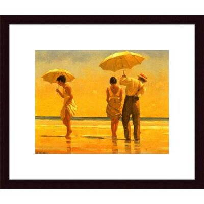 Barewalls Mad Dogs by Jack Vettriano Wood Framed Art Print