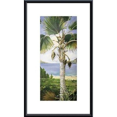 Fan Palm Metal Framed Art Print