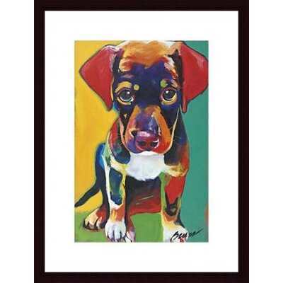 Barewalls Toby Wood Framed Art Print