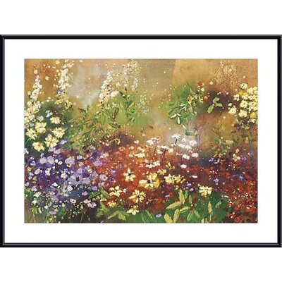Meadow Garden V Metal Framed Art Print