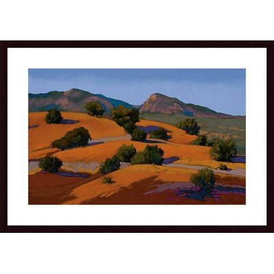Barewalls Juniper Hills Wood Framed Art Print