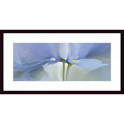 Iris #20 by Huntington Witherill Wood Framed Art Print