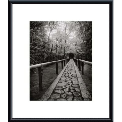 Barewalls 'Stone Path' by Jeff Zaruba Framed Photographic Print