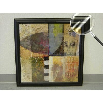 Barewalls Urban Vision II Wood Framed Print Art