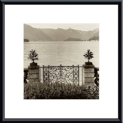 Barewalls Bellagio Vista Metal Framed Art Print
