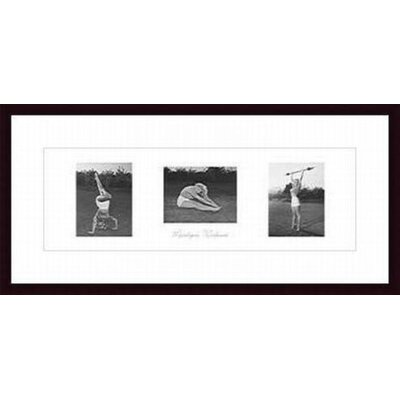 Barewalls Marilyn's Workout Wood Framed Art Print