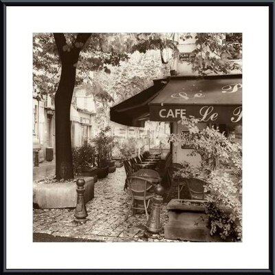 Cafe, Aix-en-Provence Metal Framed Art Print