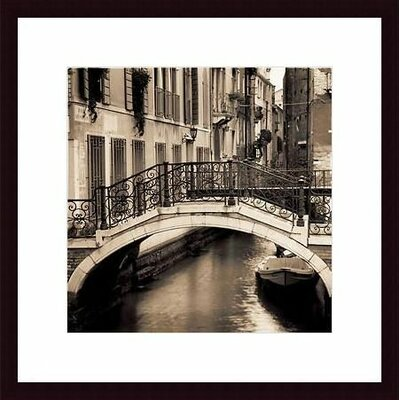 Barewalls Ponti di Venezia No. 1 Wood Framed Art Print