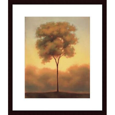 Barewalls Solitude III Wood Framed Art Print