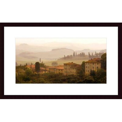Barewalls Tuscan Mist by Jim Chamberlain Wood Framed Art Print